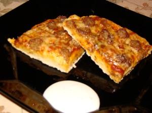 zesty, no-yeast pizza